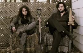 Photo of Riishi Von Rex and Michel Delage by Alyosha Derry